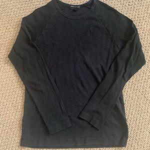 Black Long Sleeve Thermal
